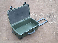 Green Peli iM2500 Storm Waterproof Case Airline Hand Luggage WITH WHEELS Handle