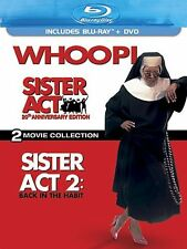 SISTER ACT + SISTER ACT 2 BACK IN THE HABIT 2-MOVIE COLLECTION New Blu-ray + DVD