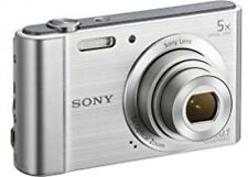 New Sony DSCW800 Digital Compact Camera 20.1 MP, 5x Optical Zoom - Silver