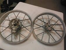 1978 PUCH MOPED MAGNUM MK II NEWPORT PINTO MAXI ETC FRONT+REAR SNOWFLAKE RIMS