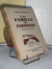 UNE FAMILLE DE PIONNIER - ANDREAS HAUKLAND - LAPONIE - PÔLE NORD