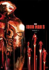 IRON MAN 3 IMAX Original Promo Movie Poster MINT Midnight Rare ROBERT DOWNEY JR.