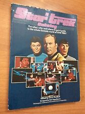 STAR TREK CATALOG BOOK 1979 volume in inglese