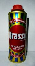 2 Brasso Metal Polish Brass Copper Stainless Steel Liquid 90ml  Cleaner Statues
