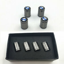4pcs Titanium Auto Car Wheel Tire Tyre Valve Cap Dust Air Cover for BMW Parts