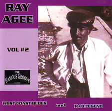 RAY AGEE - West Coast R&B and Blues Legend Vol. 2 CD