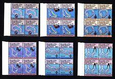 MARSHALL ISLANDS - 1984 - Mappa delle isole che costituiscono l'arcipelago