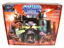 "HE-MAN CASTLE GRAYSKULL Masters Of The Universe MOTU 6"" Figure Playset 2004 NEW"