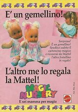X2183 Magic Nursery - Mattel - Pubblicità 1990 - Advertising