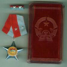 A2/11: Vietnam Liberate Combatant medal 2nd class with ribbon + box
