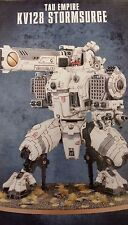 Warhammer 40K Tau Empire XV128 STORMSURGE Super Heavy Mecha-Armor New