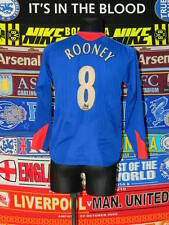 3/5 Manchester United adults S #8 Rooney 2004 away football shirt jersey trikot