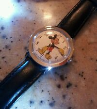 vintage extremely rare 1971 Timex Mickey Mouse windup mens dress watch PRISTINE