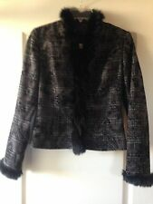 CATERINA LEMAN Women Suit, Jacket And Skirt, SIZE Small