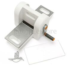White Embossing Scrapbooking Art Craft Design Cutting Die Machine Starter Kit