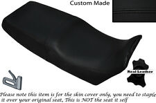 BLACK STITCH CUSTOM FITS BMW K1 1000 88-93 DUAL LEATHER SEAT COVER ONLY