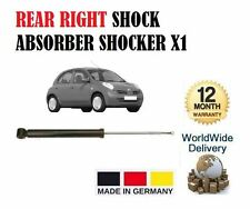 FOR NISSAN MICRA 1.0 1.2 1.4 1.5DCi 2003-  REAR RIGHT SHOCK ABSORBER SHOCKER X1
