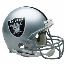 OAKLAND RAIDERS RIDDELL NFL FULL SIZE AUTHENTIC PROLINE FOOTBALL HELMET