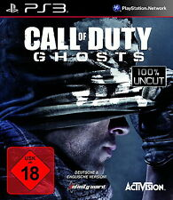 Call of Duty Ghosts Cod Ghost 100% l'allemand 100% uncut ps3 playstation 3 NOUVEAU & OVP