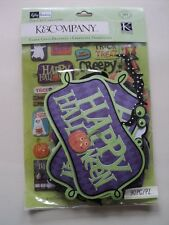 K & Co Kelly Panacci Halloween icono troqueladas cartulina BNIP