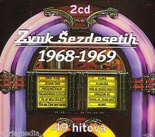 Zvuk Sezdesetih 2 CD 1968 - 1969 Croatia Kroatien Hrvatska 49 Hitova Stari Pjer