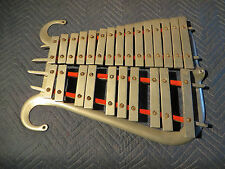 Antique Musser Lyre Bell set, Marching Glockenspiel, Playing Condition