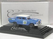 TOP: Wiking Werbemodell Mercedes 220 S Heckflosse Rallye # 617 in OVP