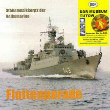 Flottes parade, barre musique corps des populaire marine de la rda, CD, rda-musée-tutow