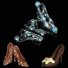 3D High Heel PC Polycarbonate Chocolate Mold Maker Candy Chocolate DIY Moulds