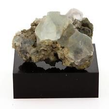 Fluorite verte octaédrique. 68.5 cts. Massif du Mont-Blanc, France. Ultra rare