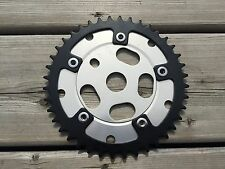 OLDSCHOOL BMX CHAINRING AND SPIDER SPYDER 40T CRANKSET NOS NEW MX OLD SCHOOL