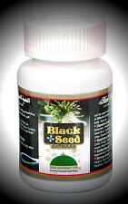 Black Seed Capsules Bottle of 60 Cure For All Immune System, Skin and Body Care