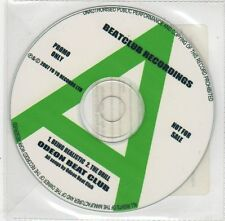 (EF927) Odeon Beat Club, Being Realistic / The Drill - 2007 DJ CD