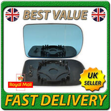 Right Driver Side Heated Blue Wing Mirror Glass for BMW Series 7 E38 1994-2001