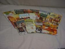 """Lot of 15 """"Old-House Interiors""""  Magazines for DIY Remodeling Renovation F198"""