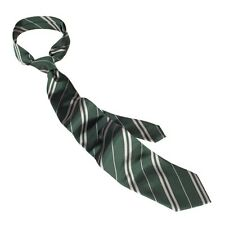 Wizarding World Of Harry Potter Slytherin Striped Tie Uniform Cosplay Authentic