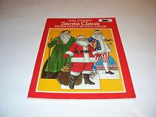 VINTAGE 1983 TOM TIERNEY SANTA CLAUS PAPER DOLLS IN FULL COLOR UNUSED!