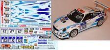 1/43 Decal Porsche 911 GT3 Cup S Muehlner 24h 2008/2009