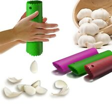 HOT Magic Silicone Garlic Peeler Peel Easy Useful Kitchen Tools Color Random