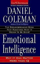 Emotional Intelligence : Why It Can Matter More Than IQ by Daniel Goleman...