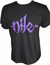 NILE Purple Logo T-Shirt S / Small (u400) 162481