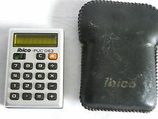 Calcolatore tascabile mini pocket calculator Ibico-Puc 063 CALCOLATRICE