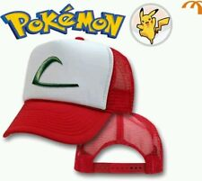 POKEMON CAPPELLO DI ASH NUOVO  Berretto Hat Go Cap Cappellino Peluche Plush