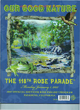2007 Rose Parade Program + Rose Bowl Program + LA Magazine on Royal Court