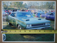 Photograph of green 1969 Dodge SUPER BEE photo taken at a New England car show