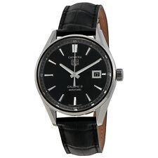 Tag Heuer Carrera Calibre 5 Black Dial Mens Watch WAR211AFC6180