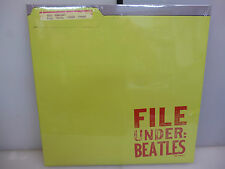 BEATLES-FILE UNDER: BEATLES. RARITIES-GATEFOLD CLEAR BLUE VINYL LP-NEW.SEALED