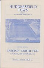 Huddersfield town v preston north end 65-66 ligue match