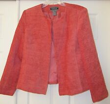 Ladies/Womens Blazer-Lined-Color is Orange/Creamsicle-Size XL-Nouveaux - NWT