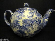 1 Heron Cross Pottery Laura Blue Chintz English 3 Cup Tea Pot or 2 mugs